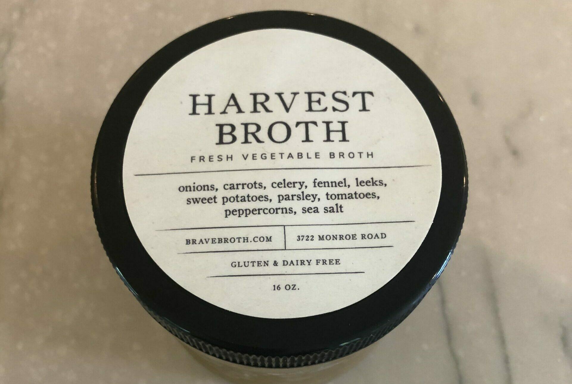 harvest vegetable broth